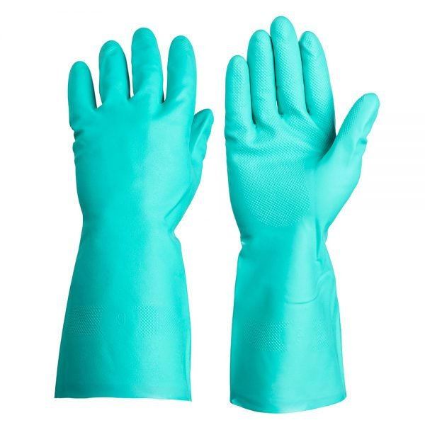 Green Gloves - Clean Hands - Commercial Kitchen Cleaning Supplies