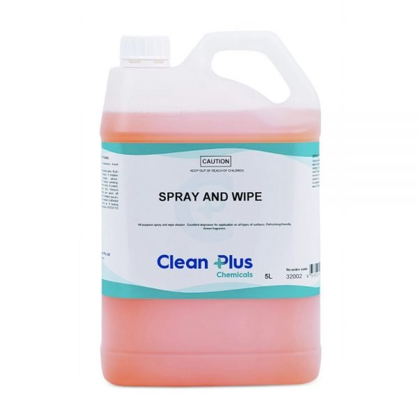 Spray and Wipe   Clean Hands