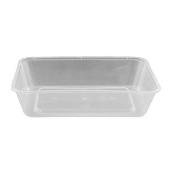 Rectangular Food Container - Packaging - Clean Hands