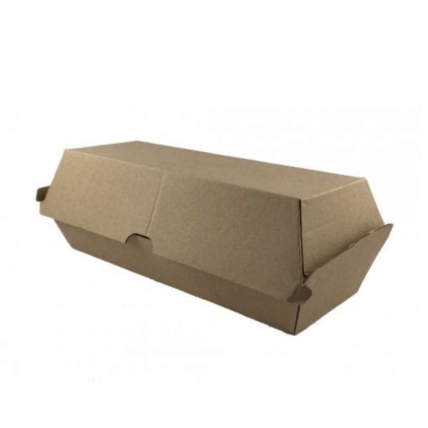 Hot Dog Box - Take-away Containers - Clean Hands