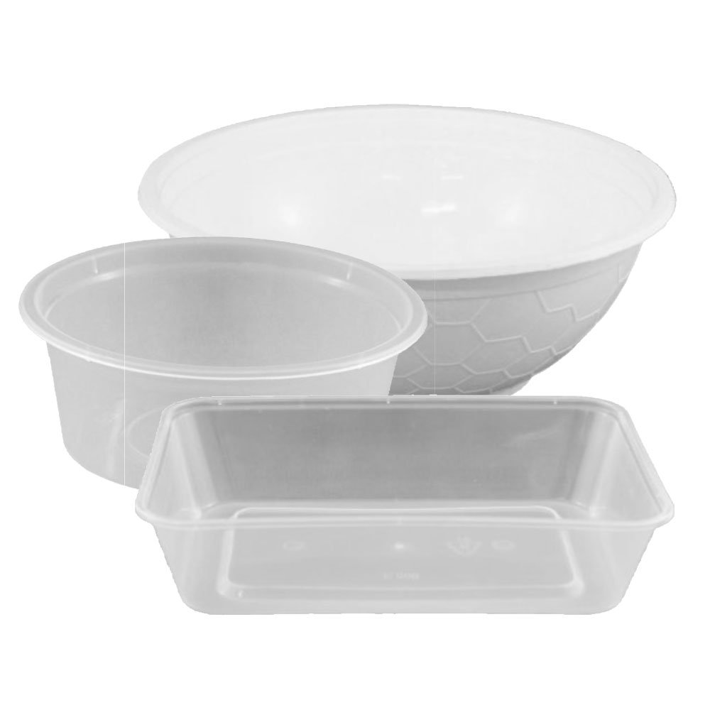 Plastic Containers - Clean Hands
