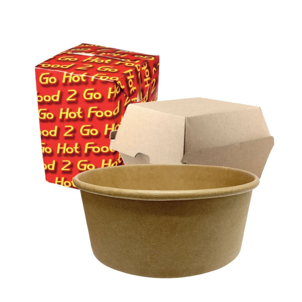 Take-away Containers - Clean Hands