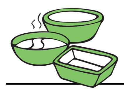 Plastic Container Packaging - Clean Hands