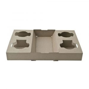 Coffee Carry Tray - 4 cup | Clean Hands